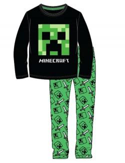 Pijama Minecraft Creeper, copii 6-12 ani