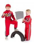 Costum Pilot curse Formula 1, copii 2 - 7 ani