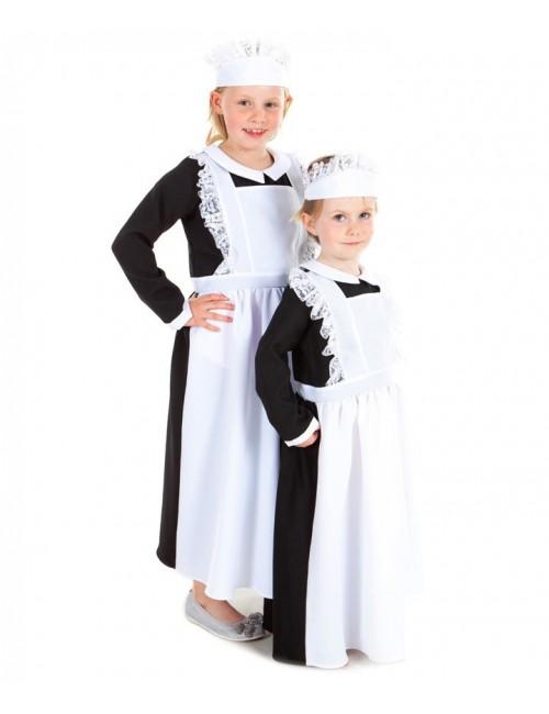 Costum Menajera, copii  5-11 ani