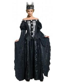 Costum Halloween femei, Rochie Regina Ravenna