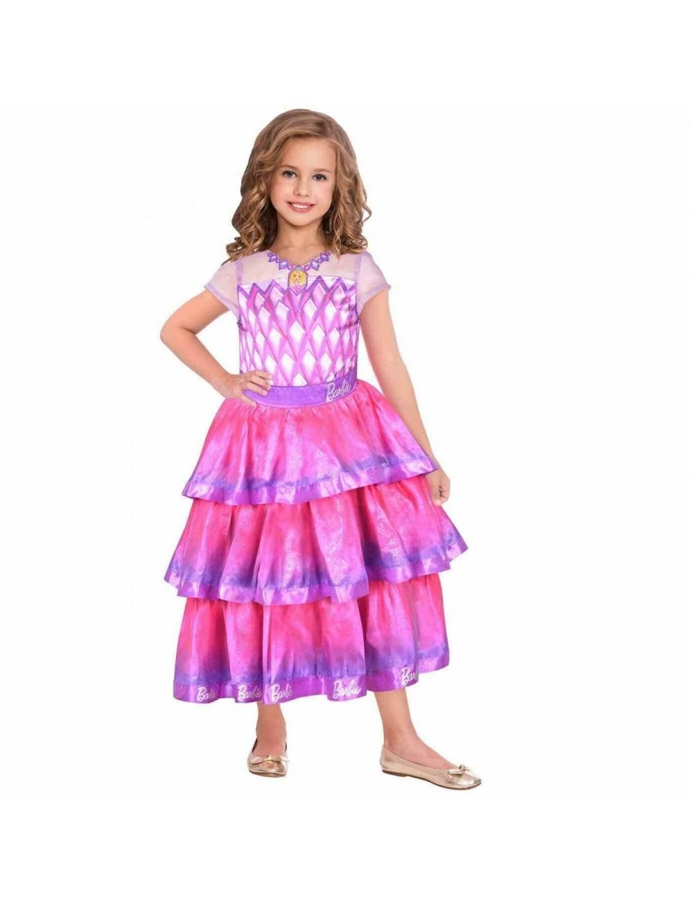 Rochie Printesa Barbie Gems, copii 5-7 ani