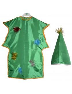 Costum Brad Craciun, copii 5-7 ani