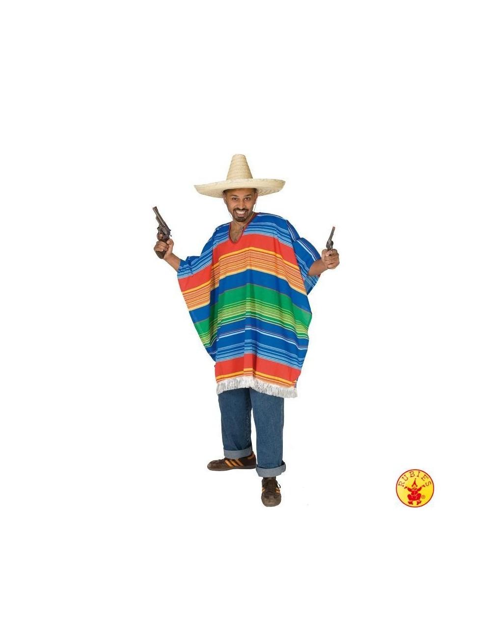 Costum barbati: Poncho Mexican Rubies 14807