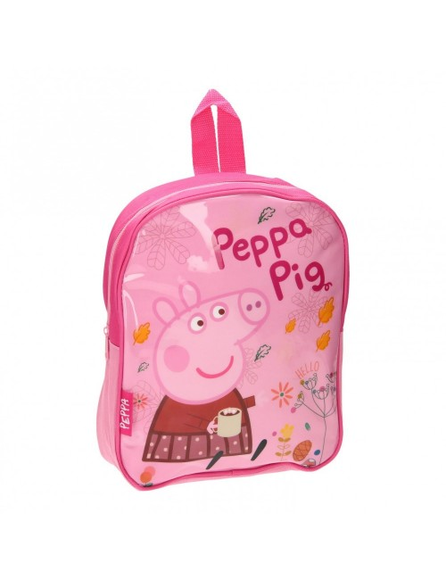 Ghiozdan Peppa Pig, gradinita, 28 x 23 x 7 cm