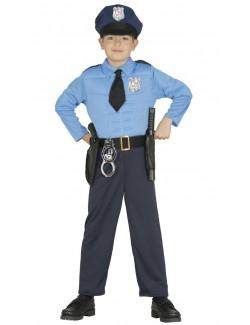 Costum Politist musculos, copii 3-12 ani