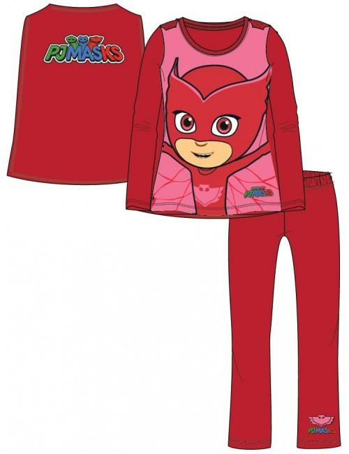 Pijama rosie, PJ Masks Bufnita, fete 4-6 ani