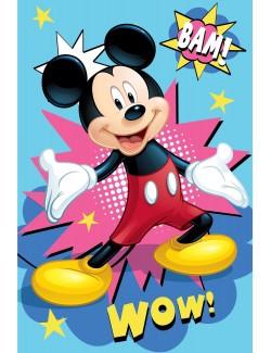 Paturica Mickey Mouse Bam, polar, 100 x 150 cm