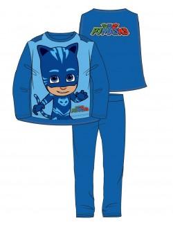 Pijama PJ Masks Pisoi, copii 3-8 ani, albastra