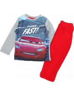 Set haine casa / Pijama Disney Cars, rosu, copii 3-8 ani
