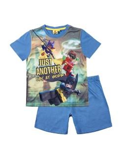 Pijama Lego Batman, albastra, copii 4-10 ani