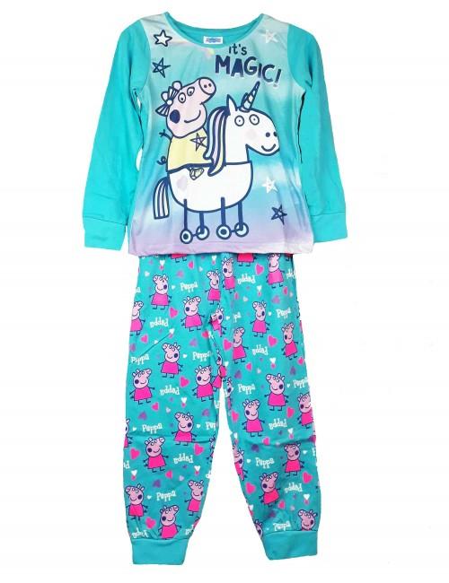 Pijama unisex, Peppa Pig It's Magic, bleu, copii 2-6 ani