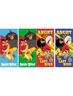 Prosop Angry Birds, 35 x 65 cm, diverse culori