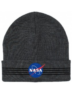 Caciula logo NASA, 54-56 cm, gri