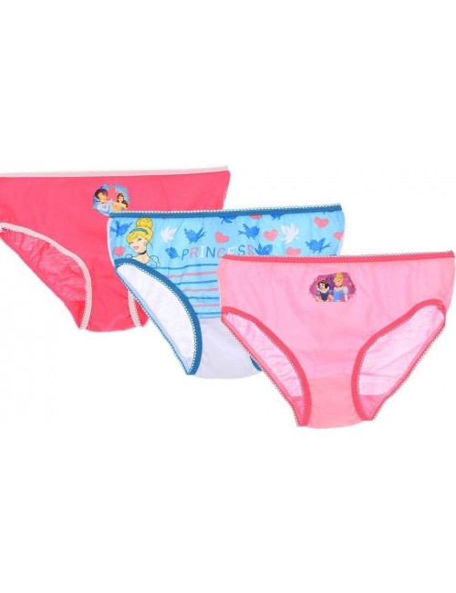 Set 3 x chiloti Printese Disney, fete 2 - 8 ani
