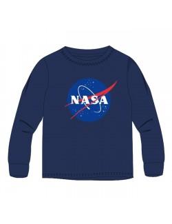 Bluza NASA, bleumarin, baieti 9-13 ani