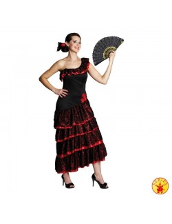 Costum femei: Rochie dansatoare spaniola