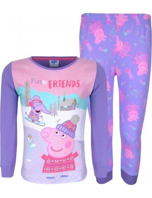 Pijama Peppa Pig Fun with friends, mov, copii 2-6 ani