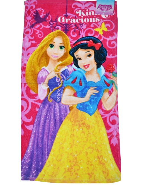 Prosop Printese Disney Rapunzel si Alba ca zapada, 65*35 cm
