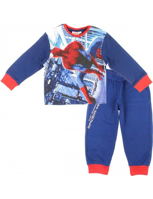 Pijama maneca lunga Spiderman