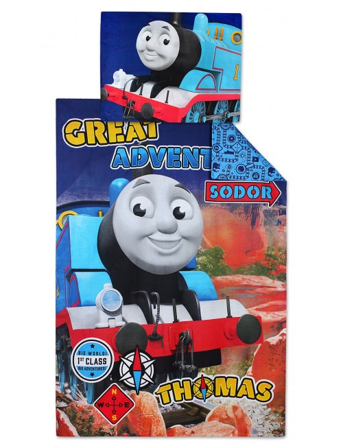 Lenjerie pat Thomas si prietenii, 140 x 200 cm