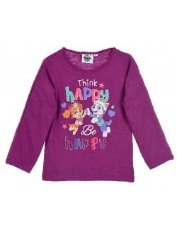 Bluza fete, Patrula catelusilor, 3-6 ani, mov