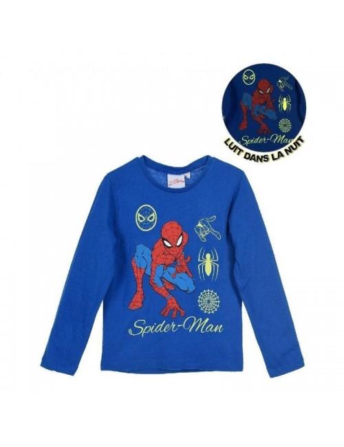 Bluza Spiderman, copii 3-8 ani, albastra