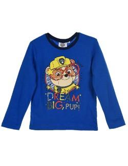 Bluza albastra, Rubble Paw patrol, copii 3 - 6 ani