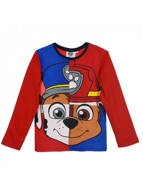 Bluza rosie, Marshall & Chase Paw patrol, copii 3-6 ani