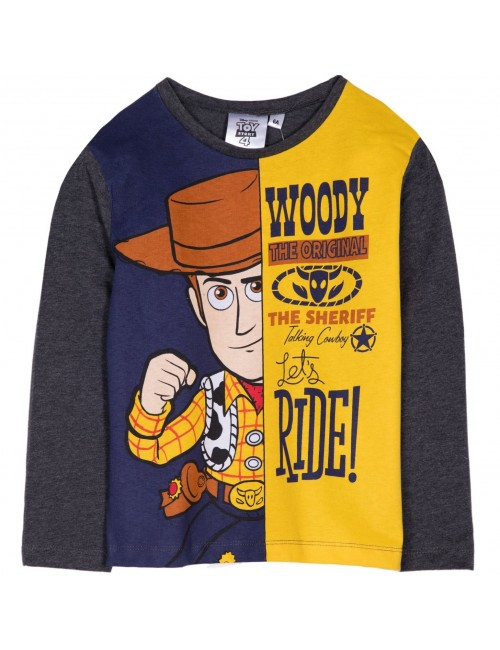 Bluza Toy story 4, gri inchis, copii 3-8 ani