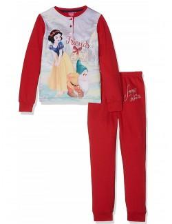 Pijama Disney Alba ca Zapada, rosie, fete 8-10 ani
