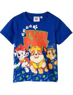 Tricou albastru, Patrula catelusilor, copii 3-6 ani