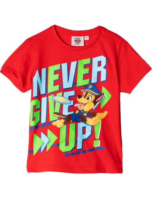 Tricou rosu, Chase Patrula catelusilor, copii 3-6 ani