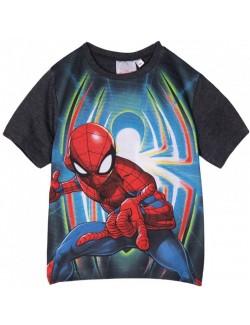 Tricou Spiderman, copii 3-8 ani, alb