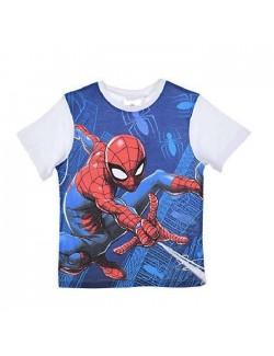Pijama Spiderman, rosu-albastru, baieti 3-8 ani