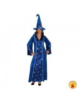 Costum femei: Rochie albastra de Vrajitoare Rubies