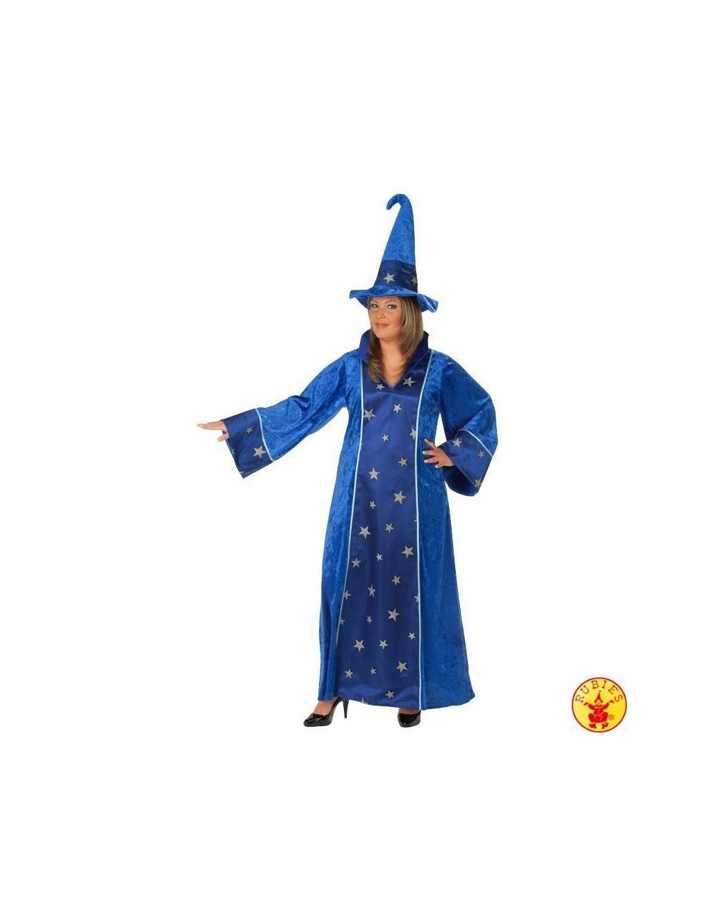 Costum femei- Rochie albastra de Vrajitoare Rubies 13453