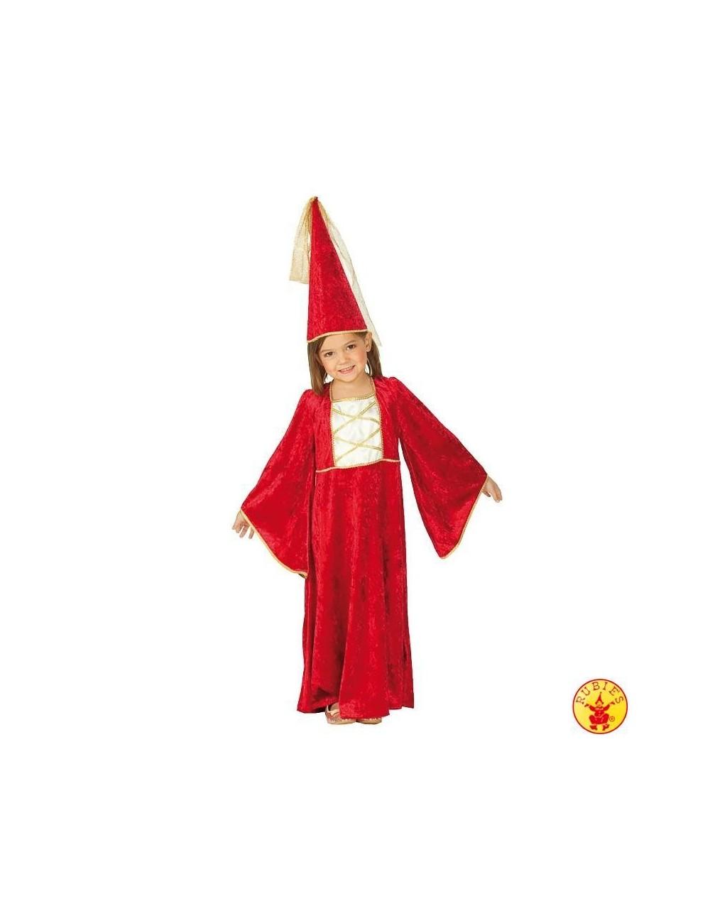 Costum fete, Castelana Rubies, 128-164 cm