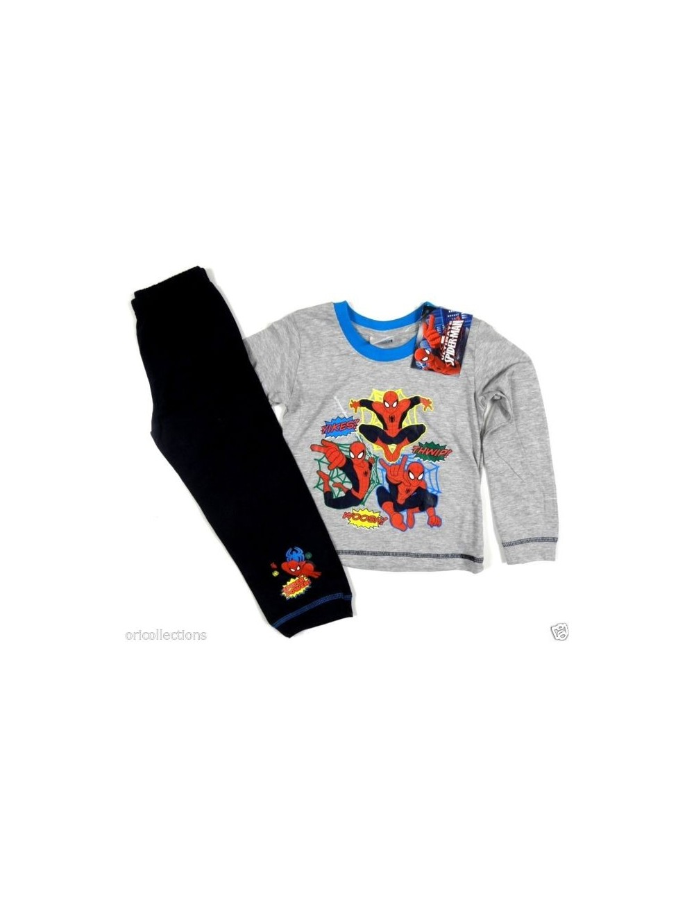 Pijama maneca lunga Spiderman Triple Action