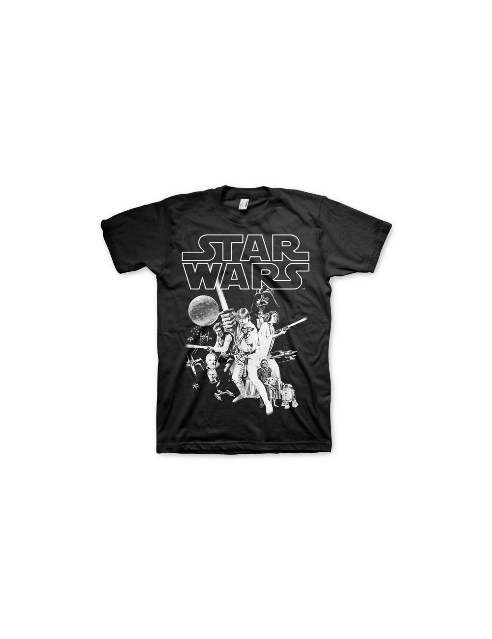 Tricou barbati Star Wars Classic Poster