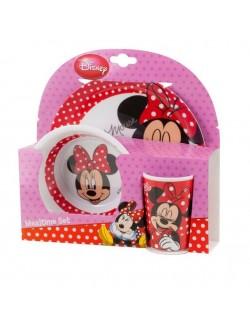 Set pentru masa 3 piese: Disney Minnie Mouse