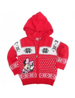 Pulover cu fermoar, Disney Minnie Mouse, 3 - 8 ani
