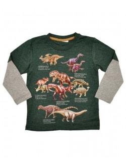 Bluza maneca lunga 2 ani, Dinozauri