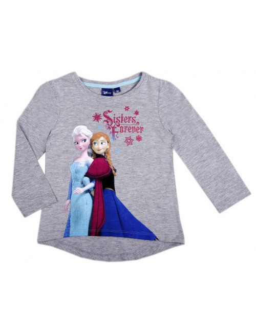 Bluza gri Frozen - Sisters Forever, 3-4 ani