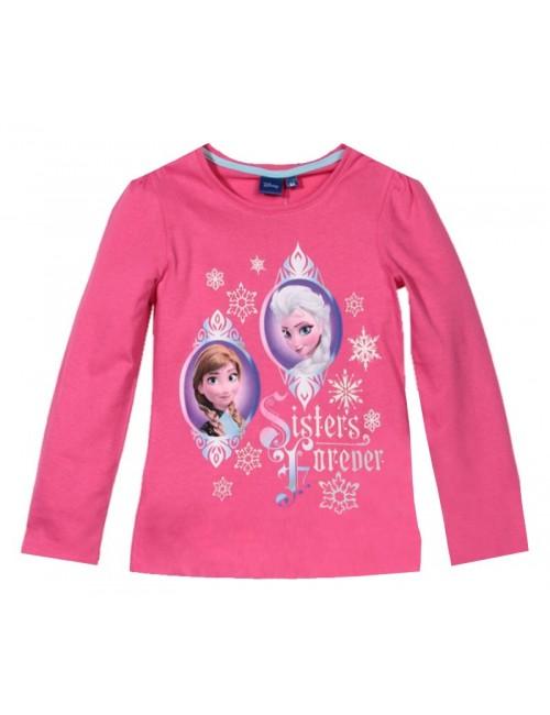 Bluza Frozen 3 - 8 ani, fucsia