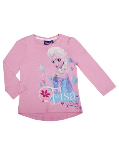 Bluza maneca lunga Elsa Disney Frozen 3-4 ani