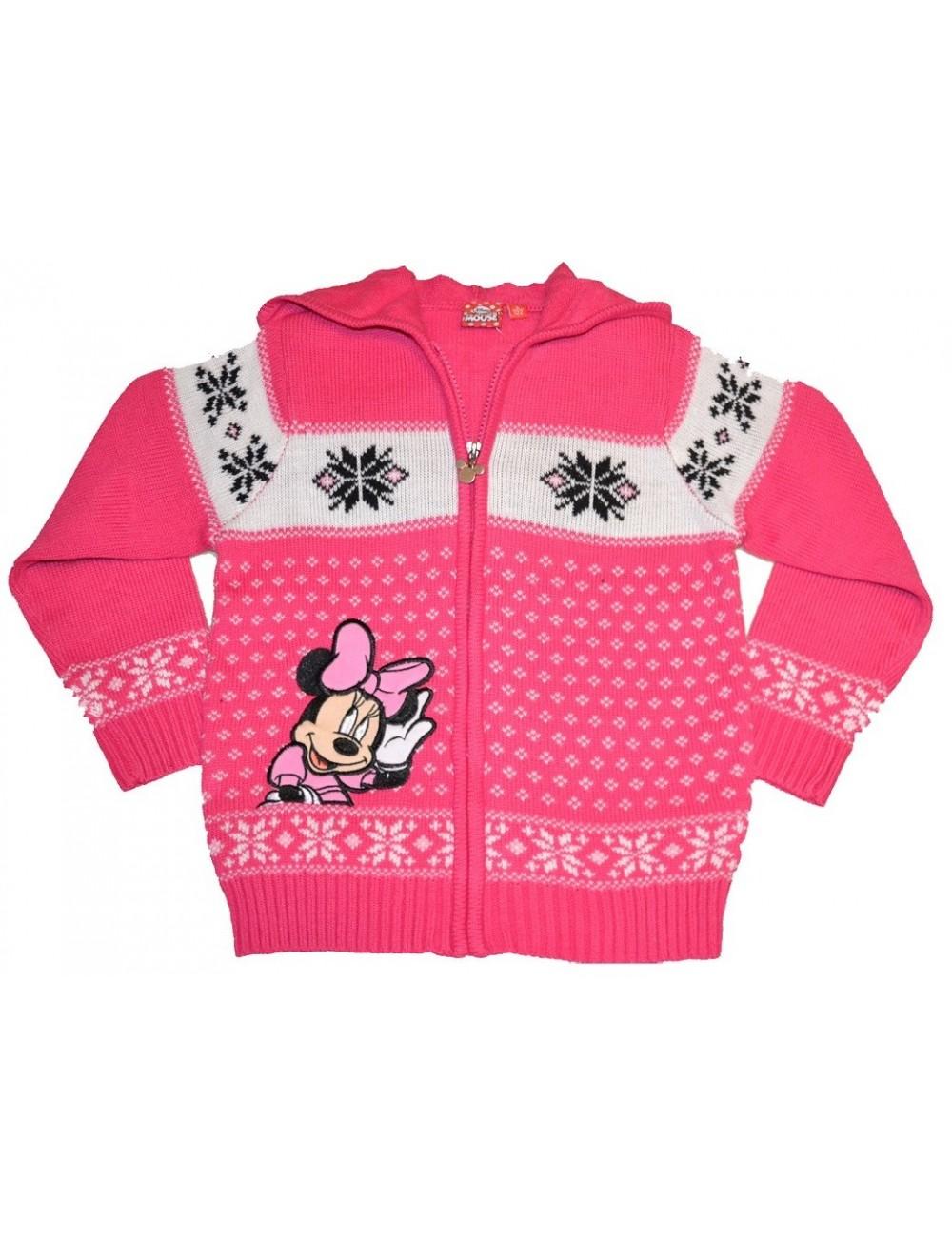 Pulover cu fermoar, Disney Minnie Mouse, 3 - 8 ani