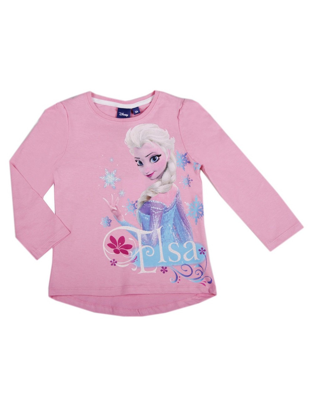 Bluza maneca lunga Elsa Disney Frozen 3-8 ani