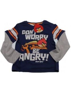 Bluza maneca lunga Angry Birds, 4 ani