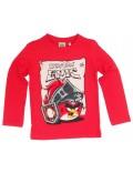 Bluza copii, Angry Birds Epic, rosie, 6 - 12 ani