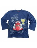 Bluza copii, bleumarin, Angry Birds GO!, 6-8 ani